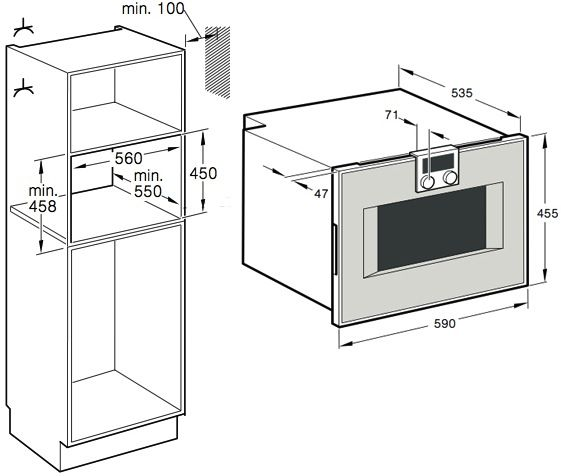 gaggenau bs 450 110. Black Bedroom Furniture Sets. Home Design Ideas